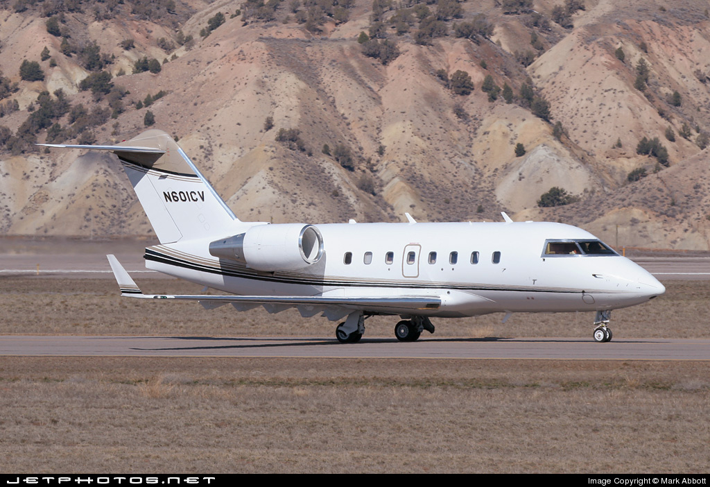 N601CV - Bombardier CL-600-2B16 Challenger 601-3R - Private