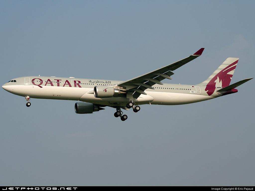 F-WWKF - Airbus A330-302 - Qatar Airways