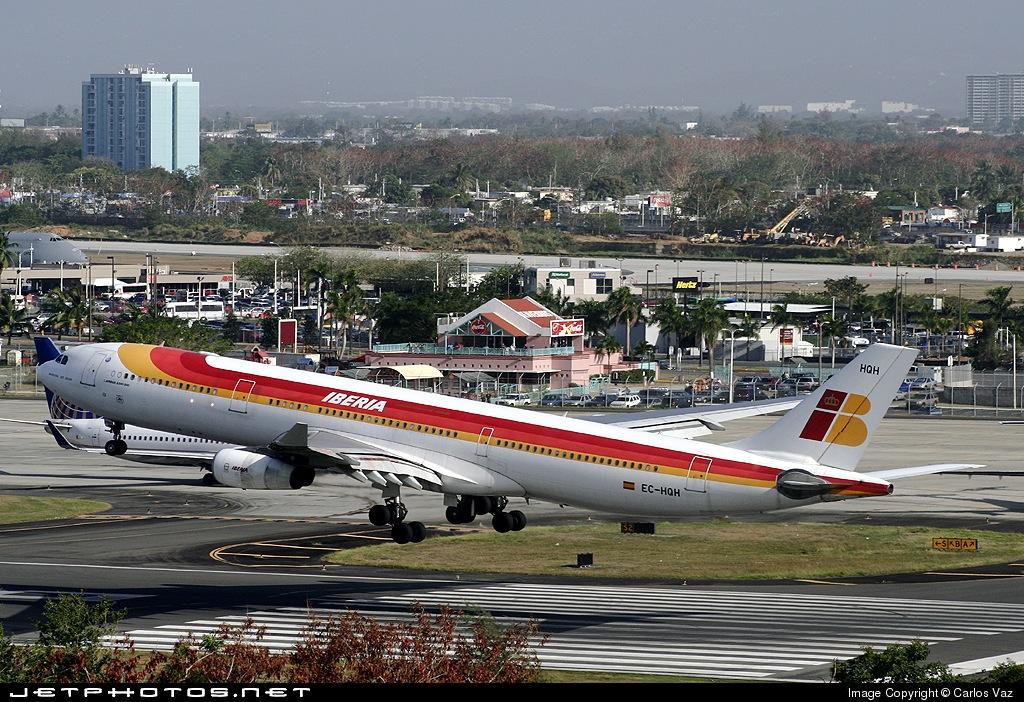 EC-HQH - Airbus A340-313X - Iberia