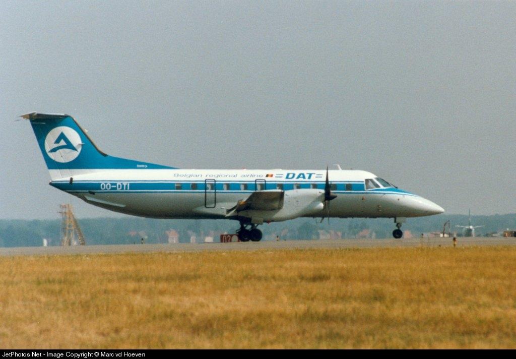 OO-DTI - Embraer EMB-120ER Brasília - Belgian Regional Airline (DAT)