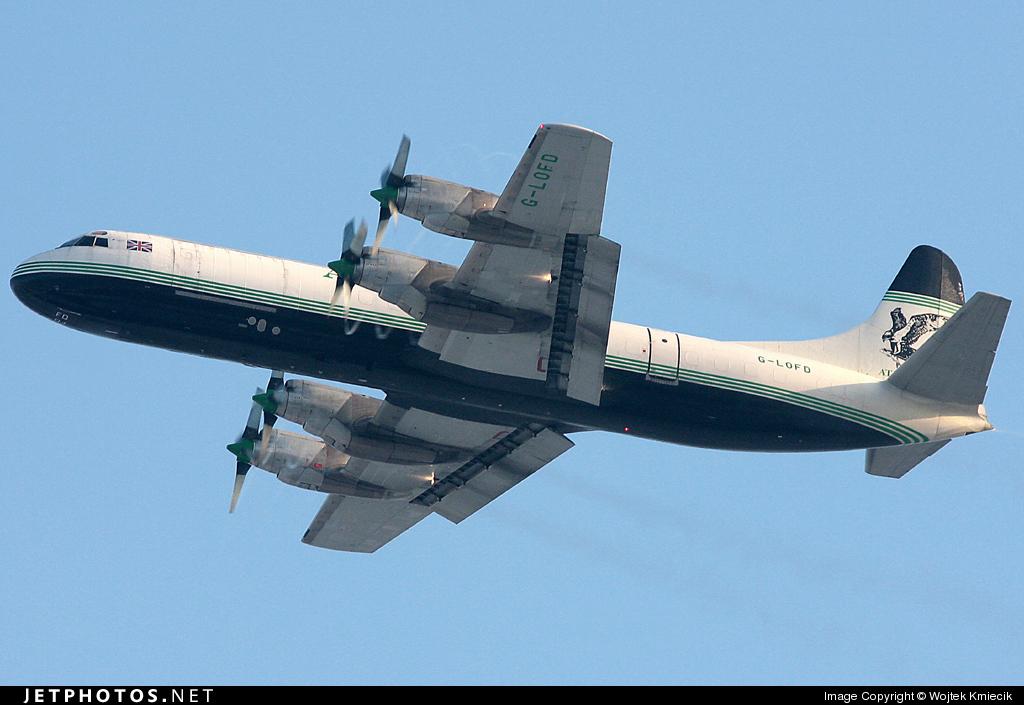 G-LOFD - Lockheed L-188A(F) Electra - Atlantic Airlines