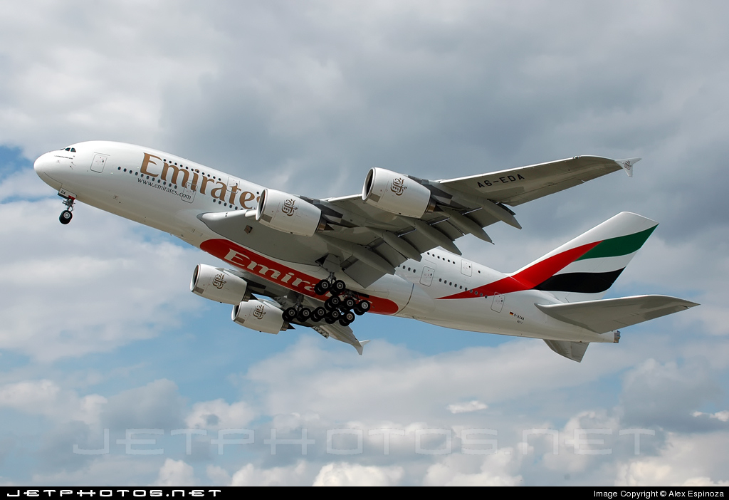 D-AXAA - Airbus A380-861 - Emirates