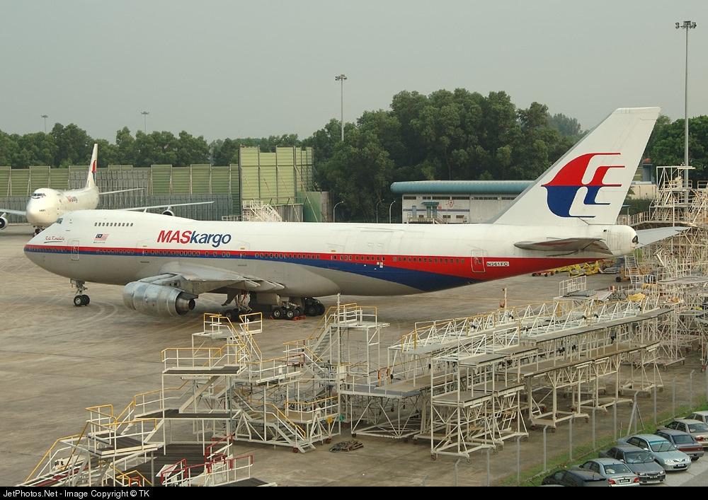 N361FC - Boeing 747-236B(SF) - MASkargo