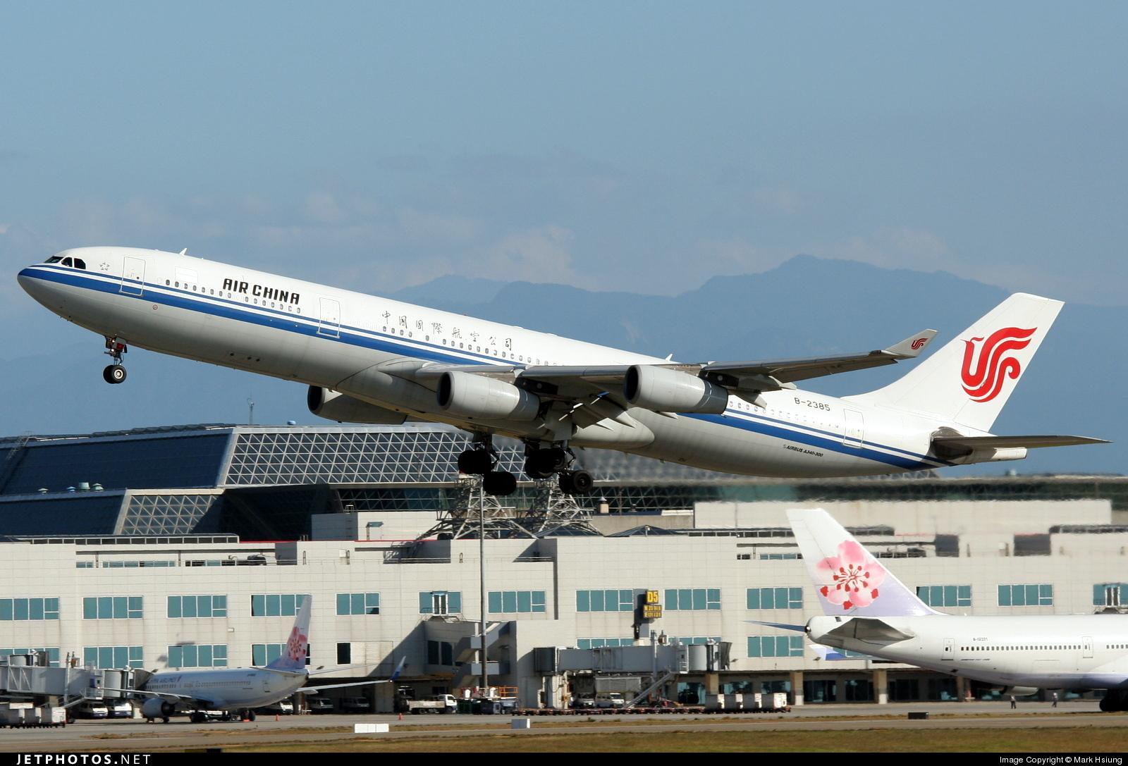 B-2385 - Airbus A340-313X - Air China