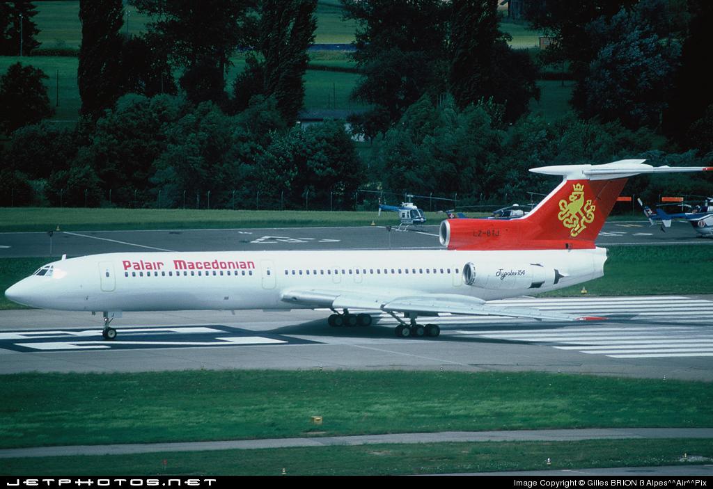 LZ-BTJ - Tupolev Tu-154B-1 - Palair Macedonian (Balkan Bulgarian Airlines)