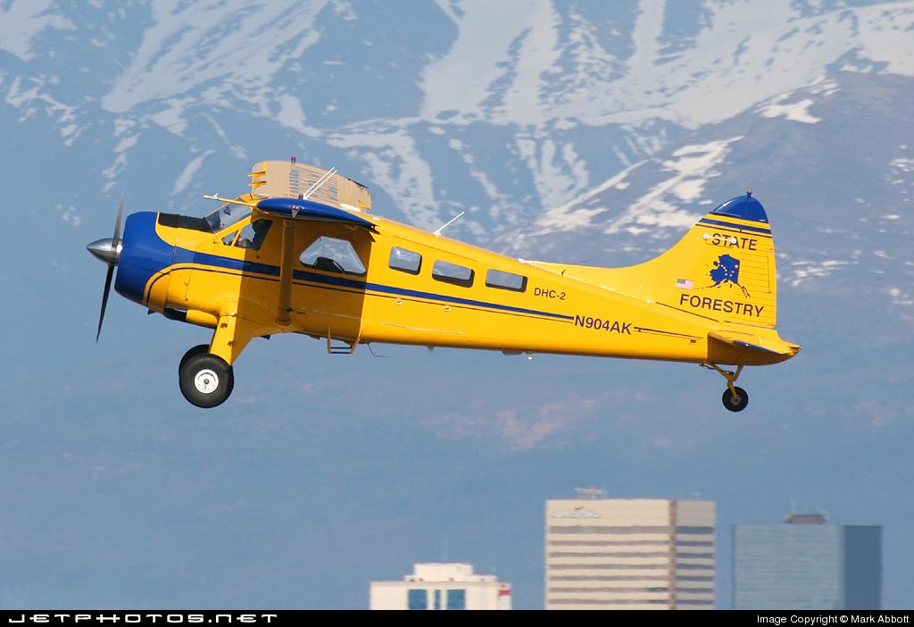 N904AK - De Havilland Canada DHC-2 Mk.I Beaver - United States - Alaska Forest Service