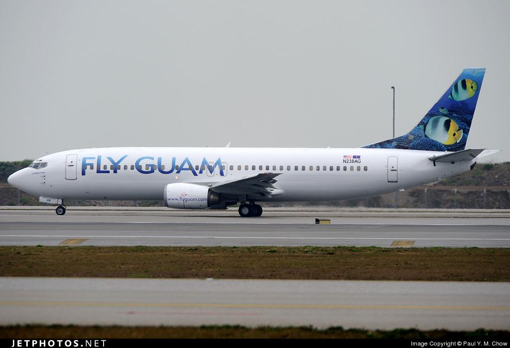 N238AG - Boeing 737-4Y0 - Fly Guam