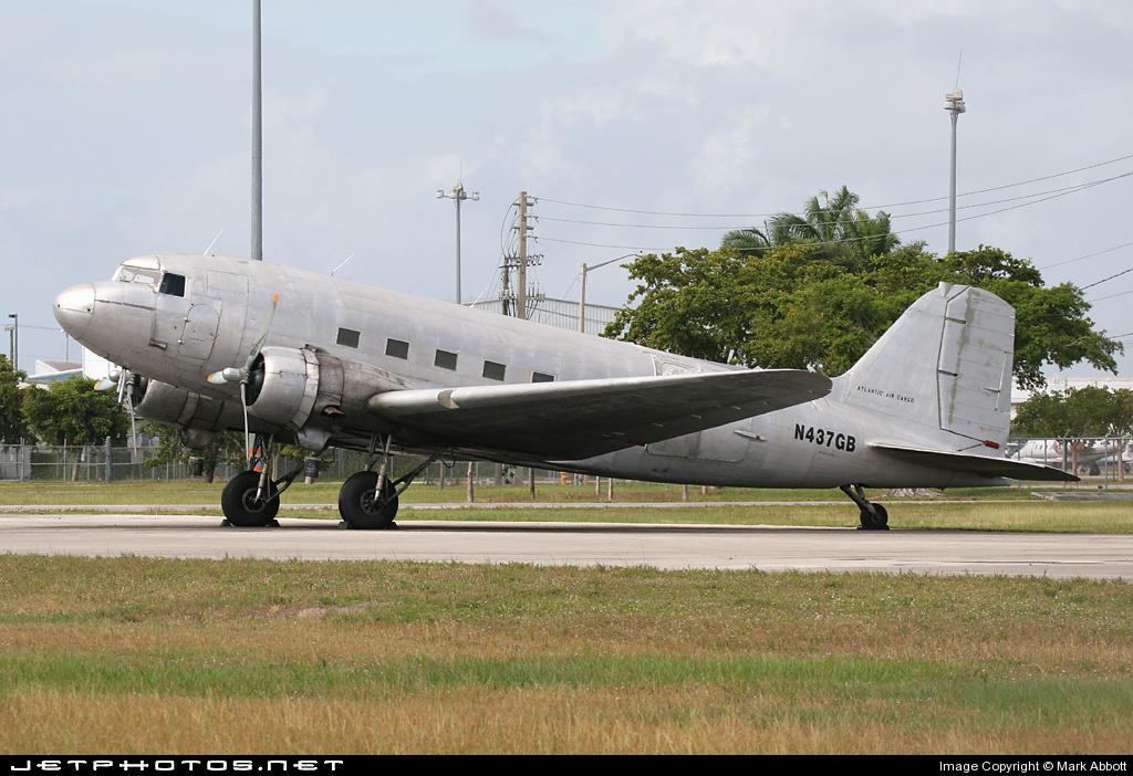 N437GB - Douglas DC-3C - Atlantic Air Cargo
