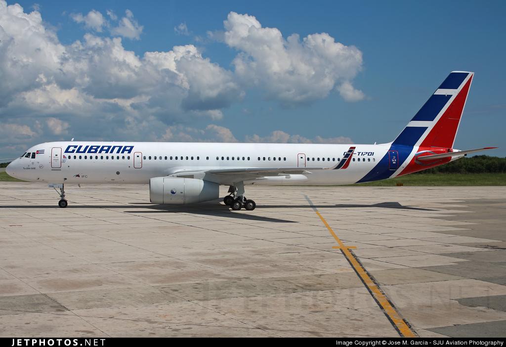 CU-T1701 - Tupolev Tu-204-100E - Cubana de Aviación