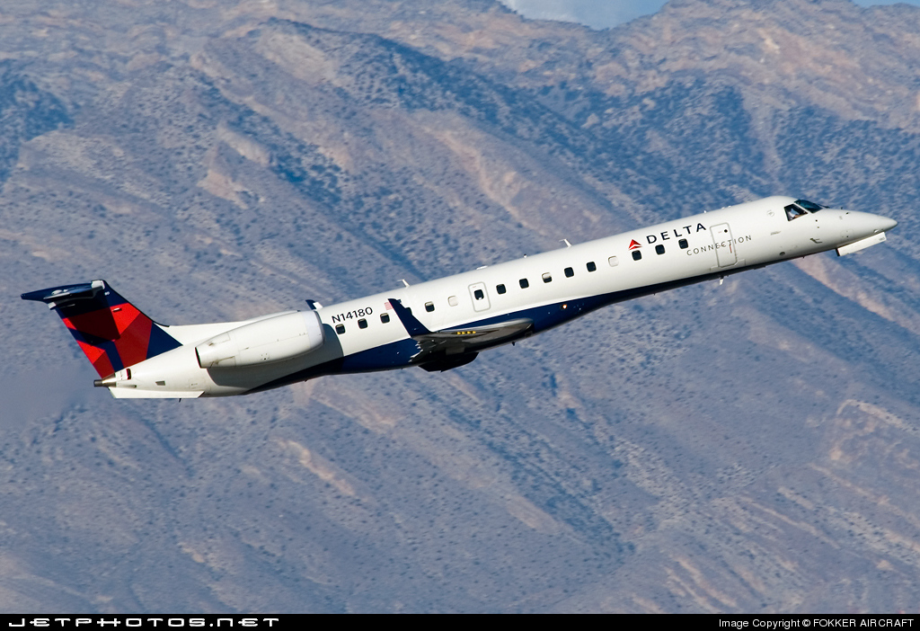 N14180 - Embraer ERJ-145XR - Delta Connection (ExpressJet Airlines)