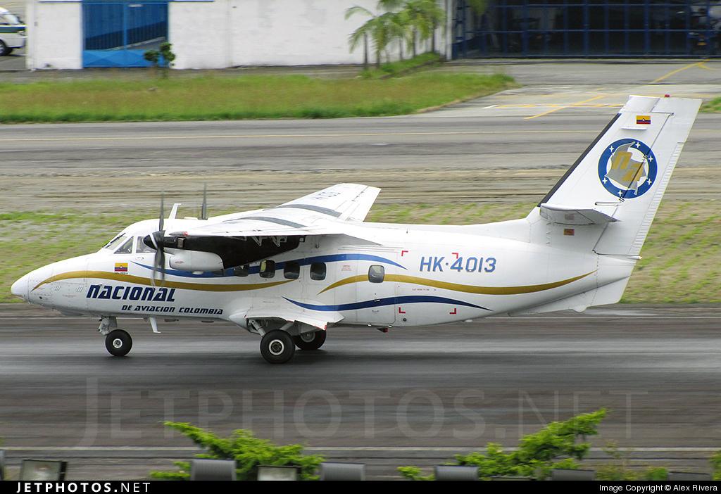HK-4013 - Let L-410UVP-E Turbolet - Nacional de Aviación Colombia