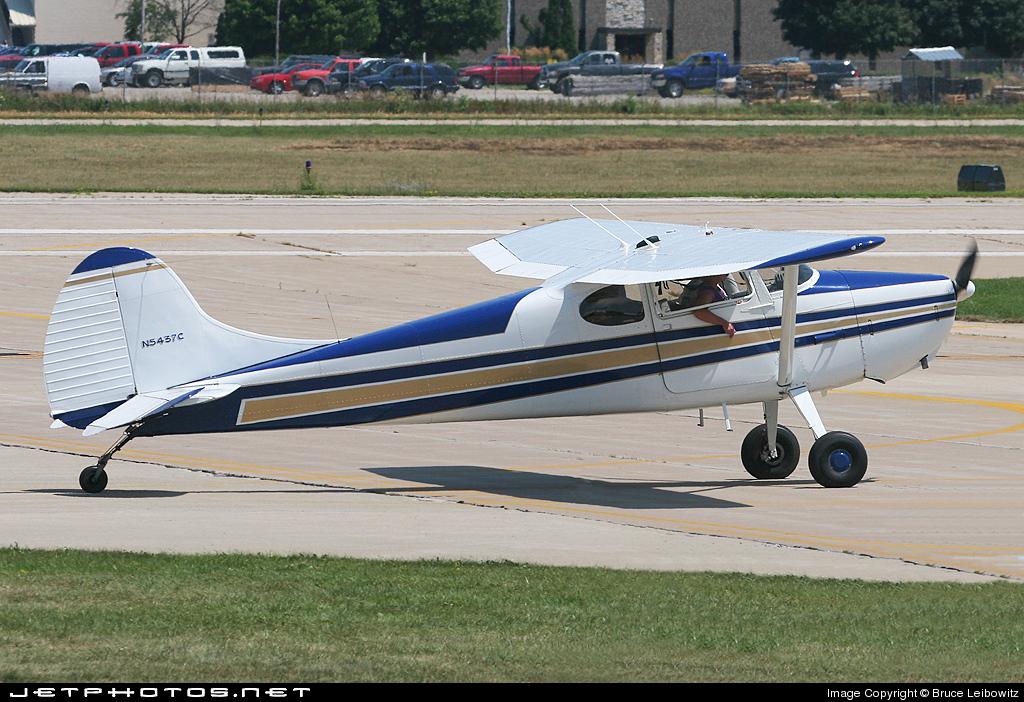N5437C - Cessna 170A - Private