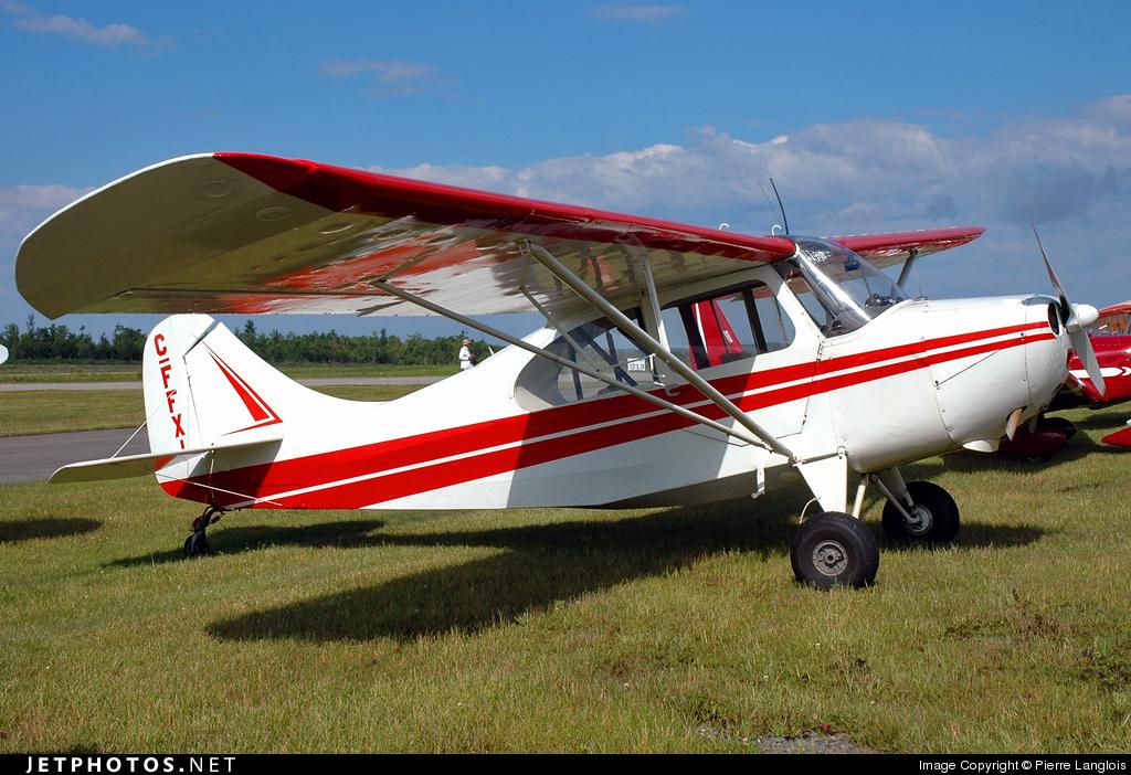 C-FFXI - Aeronca 7AC Champion - Private