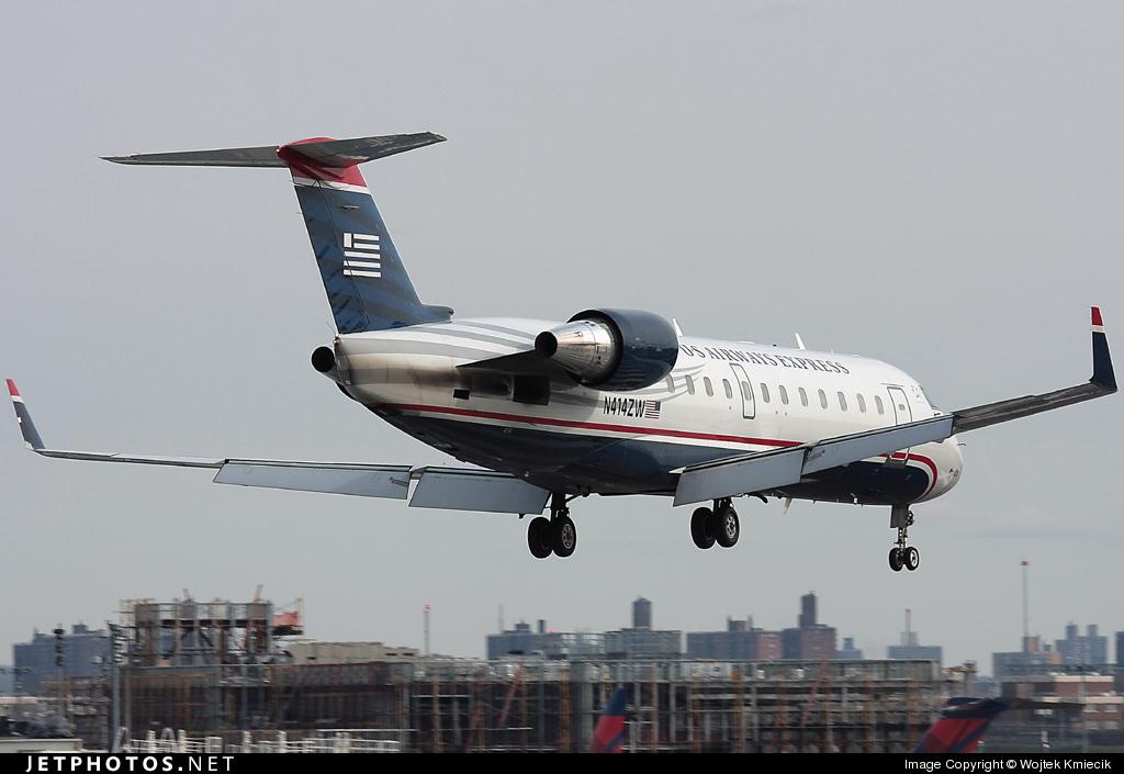 N414ZW - Bombardier CRJ-200ER - US Airways Express (Air Wisconsin)