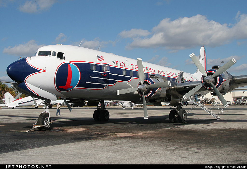 N836D - Douglas DC-7B - Historical Flight Foundation