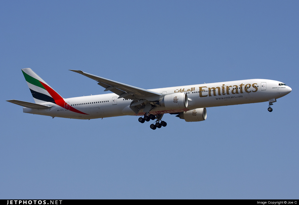 A6-ECL - Boeing 777-36NER - Emirates
