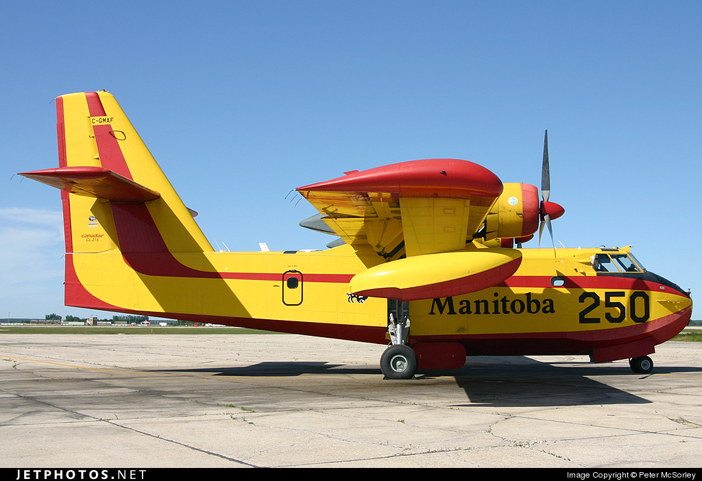 C-GMAF - Canadair CL-215 - Canada - Government of Manitoba