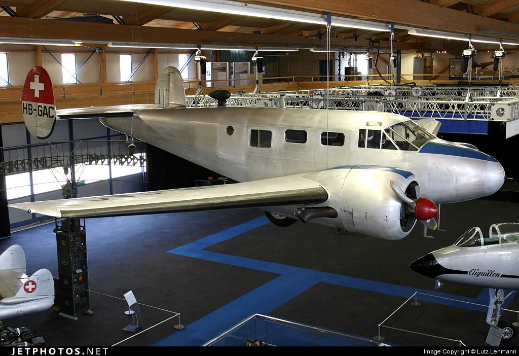 HB-GAC - Beechcraft C-45 Expeditor - Switzerland - Bundesamt für Landestopografie