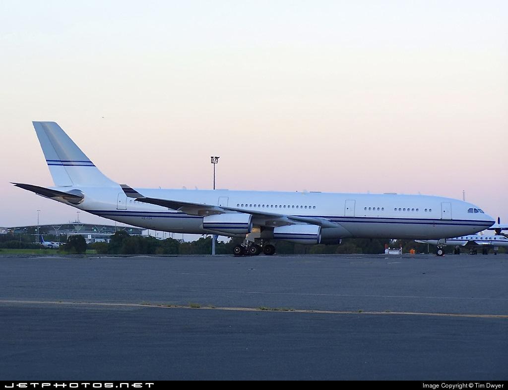 HZ-124 - Airbus A340-211 - Saudi Arabia - Government