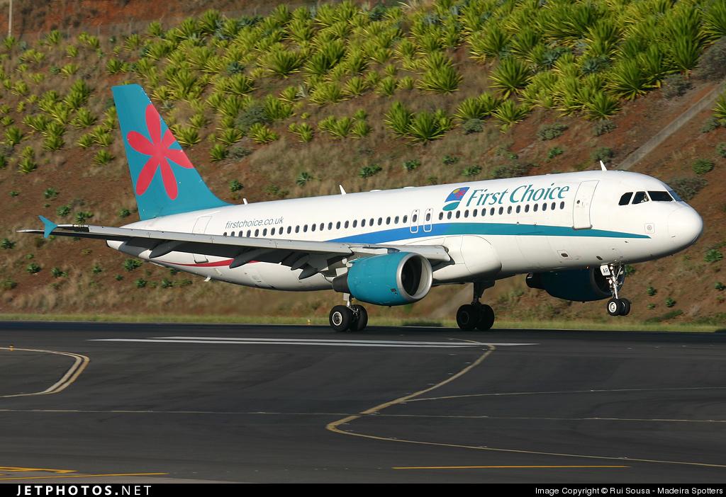 G-OOAR - Airbus A320-214 - Thomson Airways