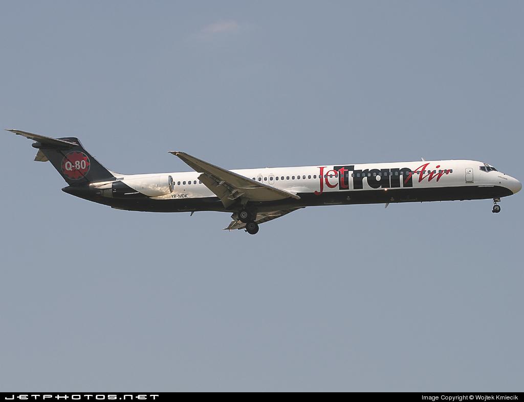 YR-MDK - McDonnell Douglas MD-82 - JetTran Air