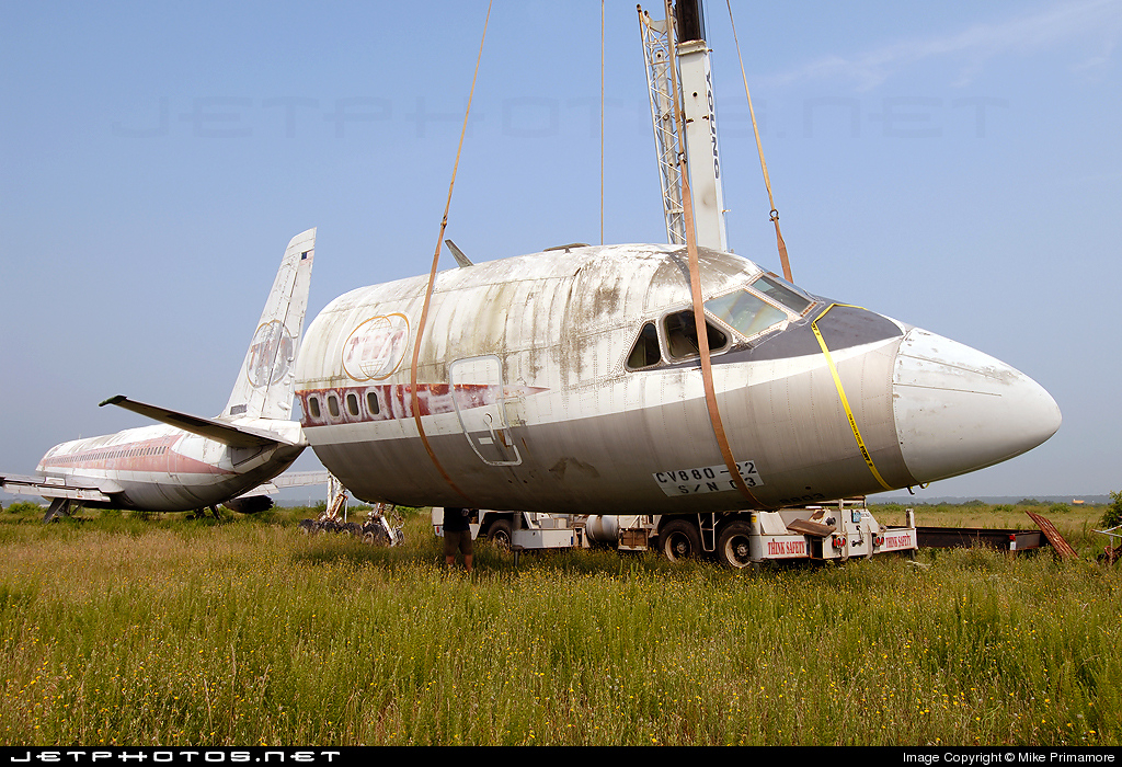 N801AJ - Convair CV-880 - Untitled