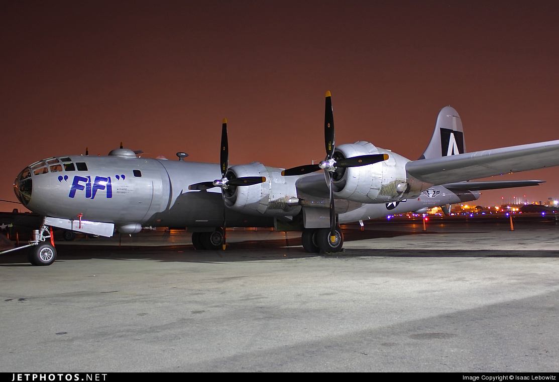 N529B - Boeing B-29A Superfortress - Commemorative Air Force