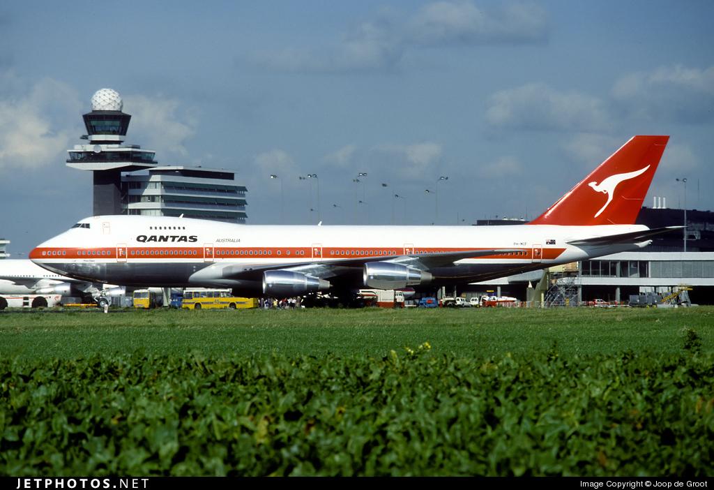 PH-MCF - Boeing 747-21AC(SCD) - Qantas (Martinair)