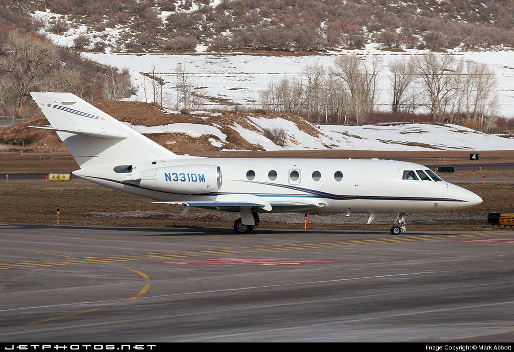 N331DM - Dassault Falcon 20F - Private