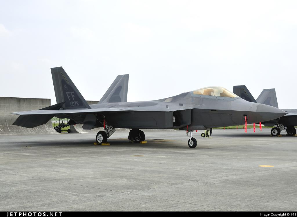 04-4078 - Lockheed Martin F-22A Raptor - United States - US Air Force (USAF)