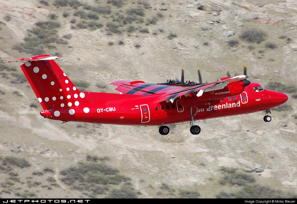 OY-CBU - De Havilland Canada DHC-7-103 Dash 7 - Air Greenland