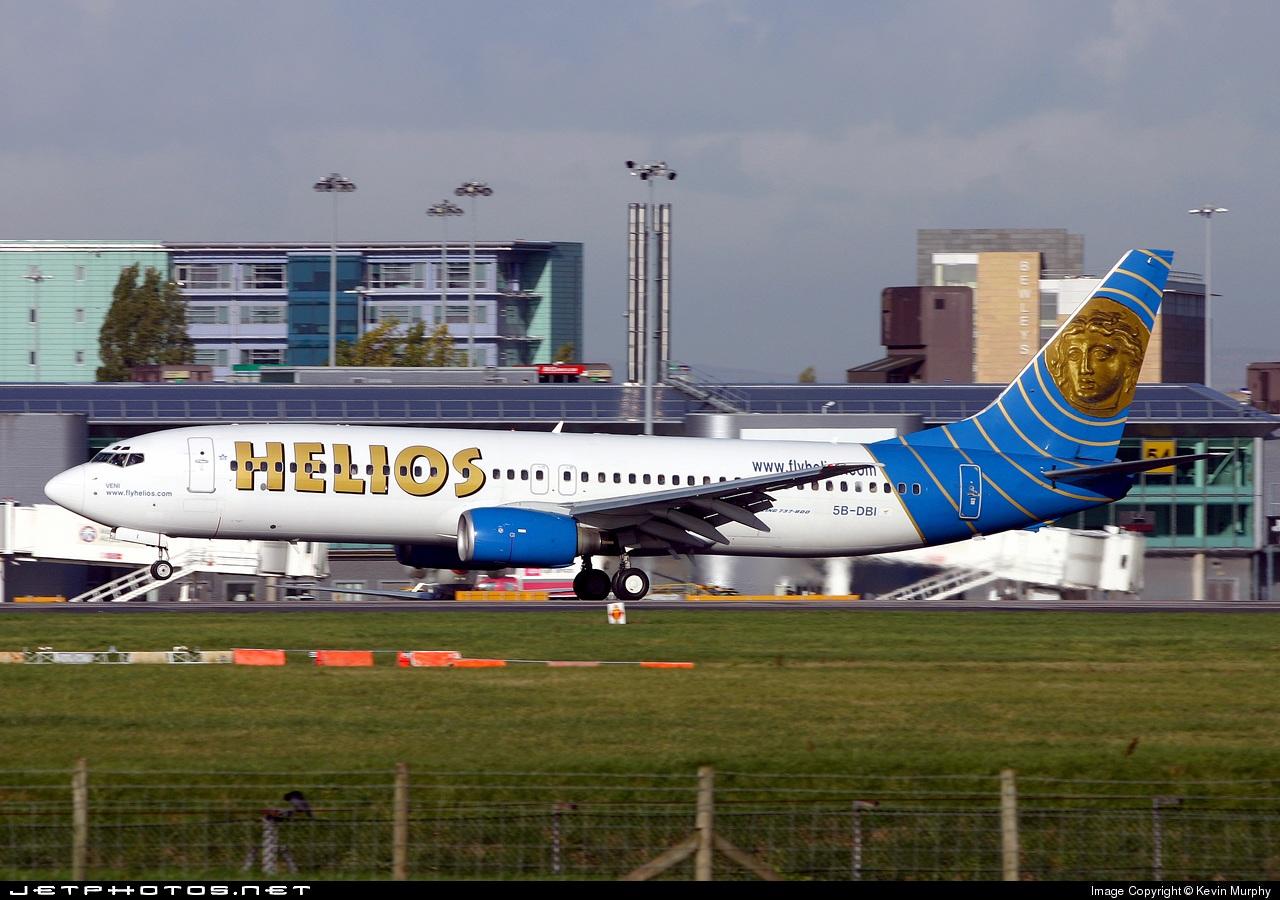 5B-DBI - Boeing 737-86N - Helios Airways
