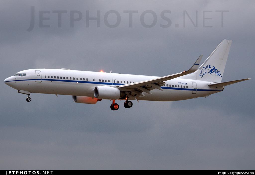 VP-CSK - Boeing 737-8GG(BBJ2) - Private