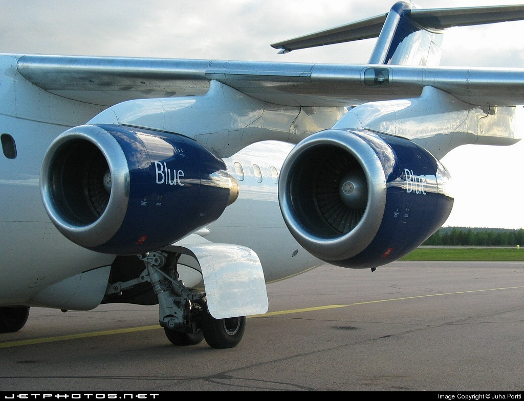 OH-SAM - British Aerospace Avro RJ100 - Blue1