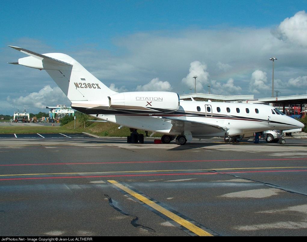 N238CX - Cessna 750 Citation X - Cessna Aircraft Company