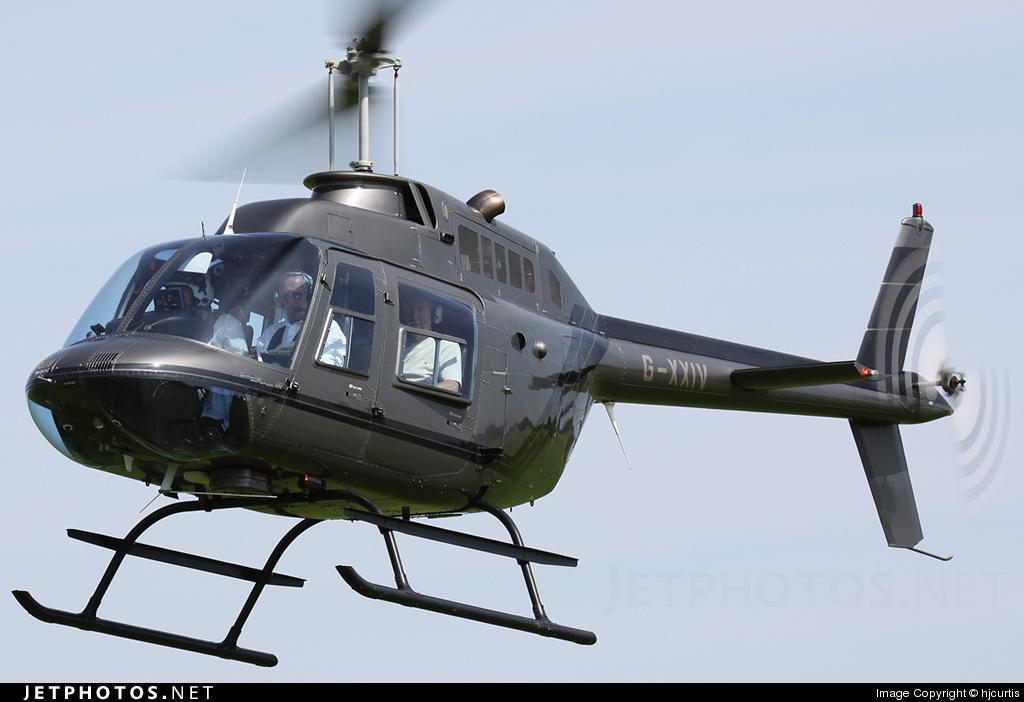 G-XXIV - Agusta-Bell AB-206B JetRanger II - Private