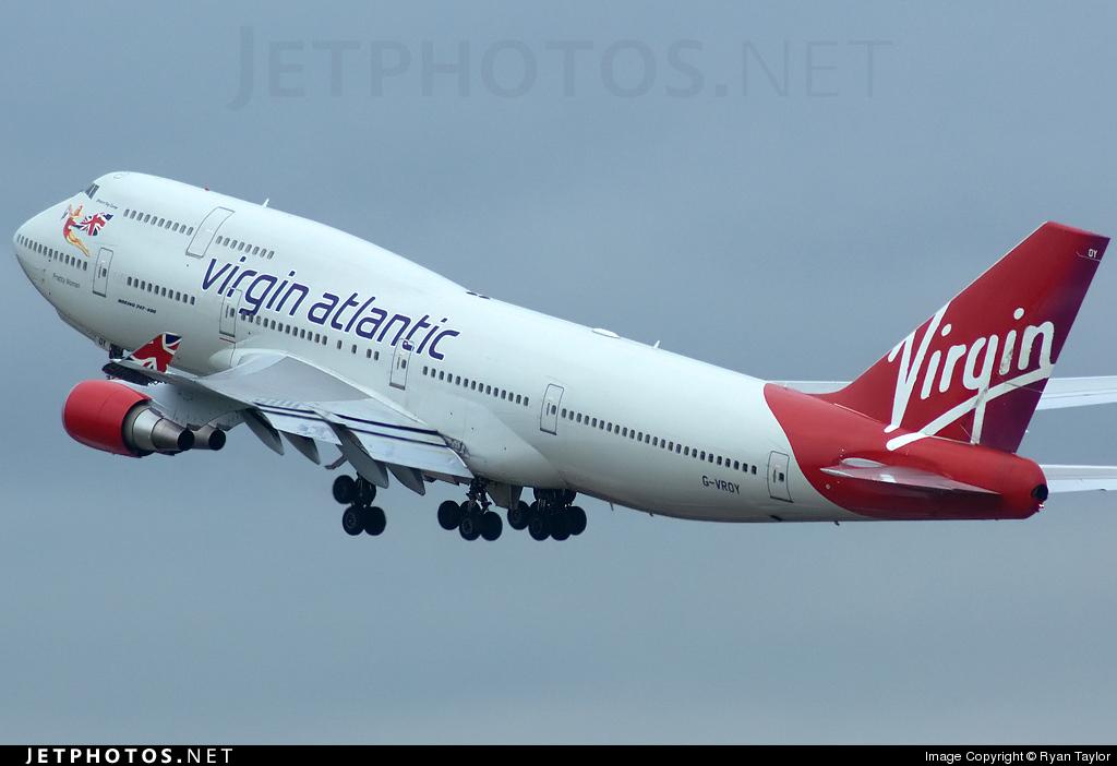 G-VROY - Boeing 747-443 - Virgin Atlantic Airways