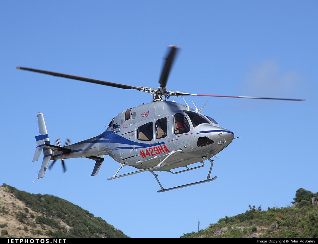 N429HA - Bell 429 - Highland Aviation