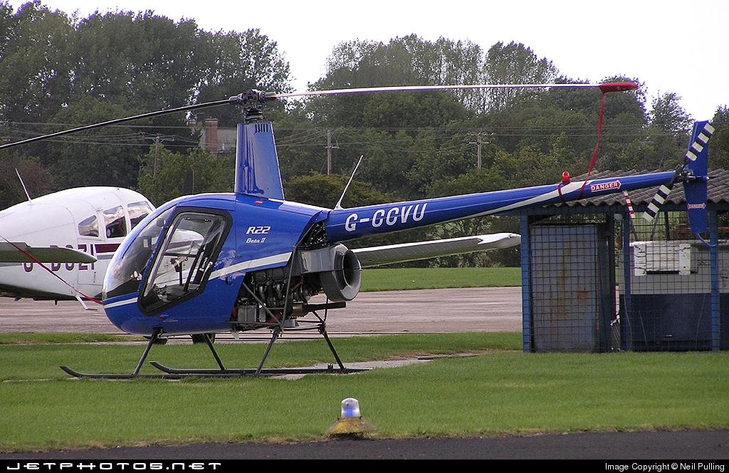 G-CCVU - Robinson R22 Beta - Private