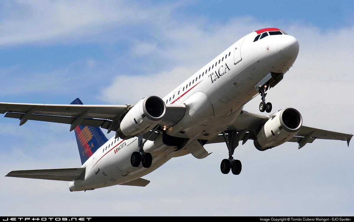 N470TA - Airbus A320-233 - TACA International Airlines