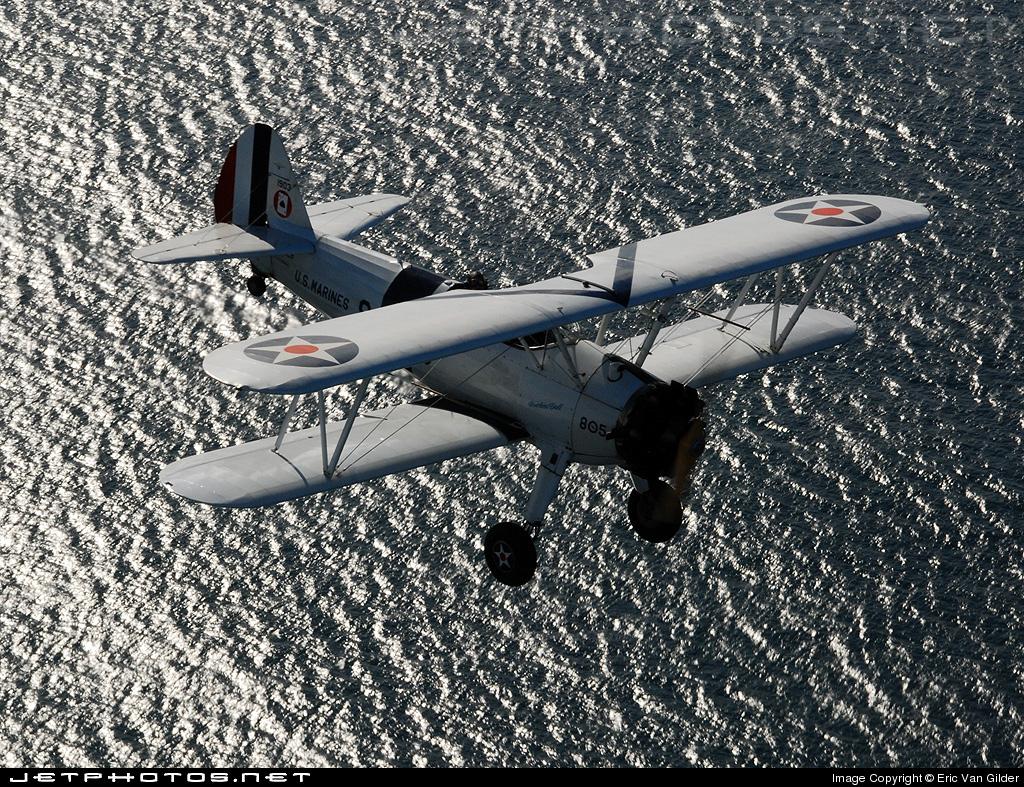 N1702B - Boeing PT-13 Kaydet - Private