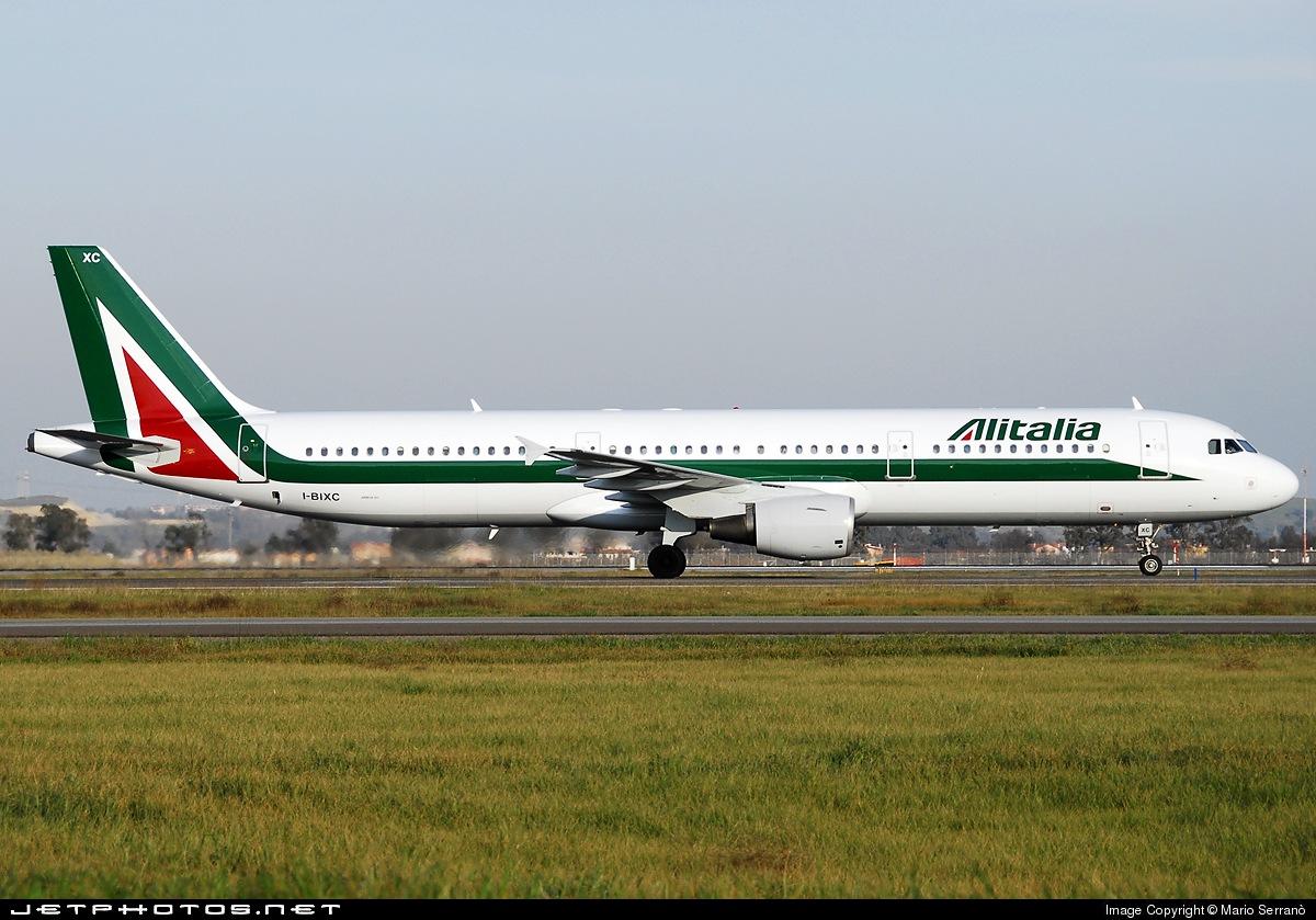 I-BIXC - Airbus A321-112 - Alitalia