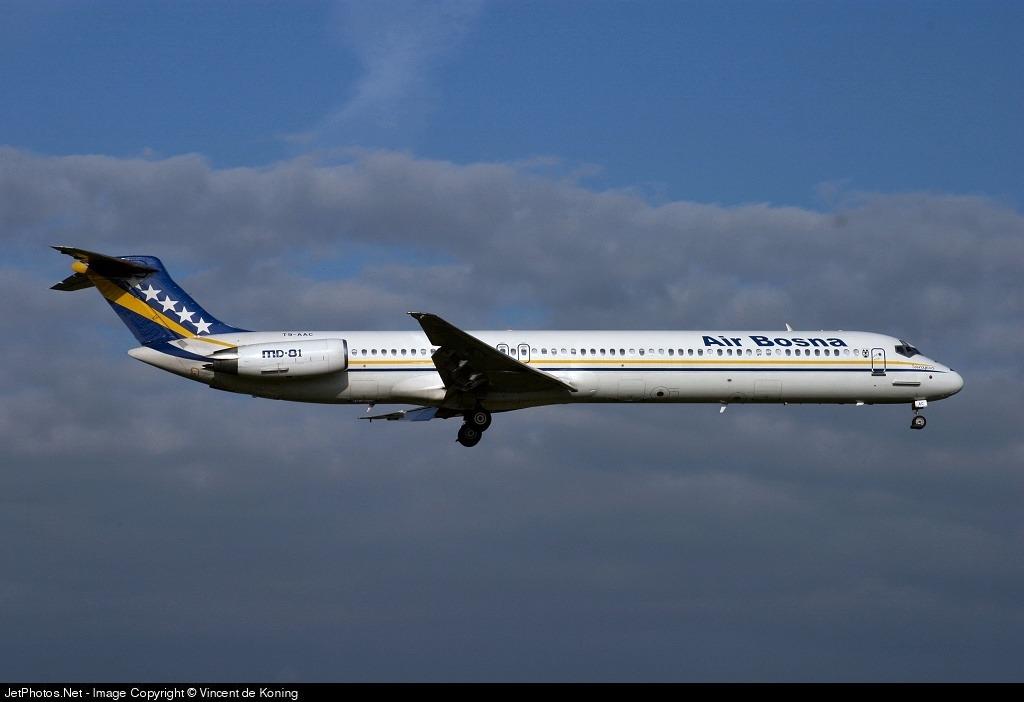 T9-AAC - McDonnell Douglas MD-81 - Air Bosna