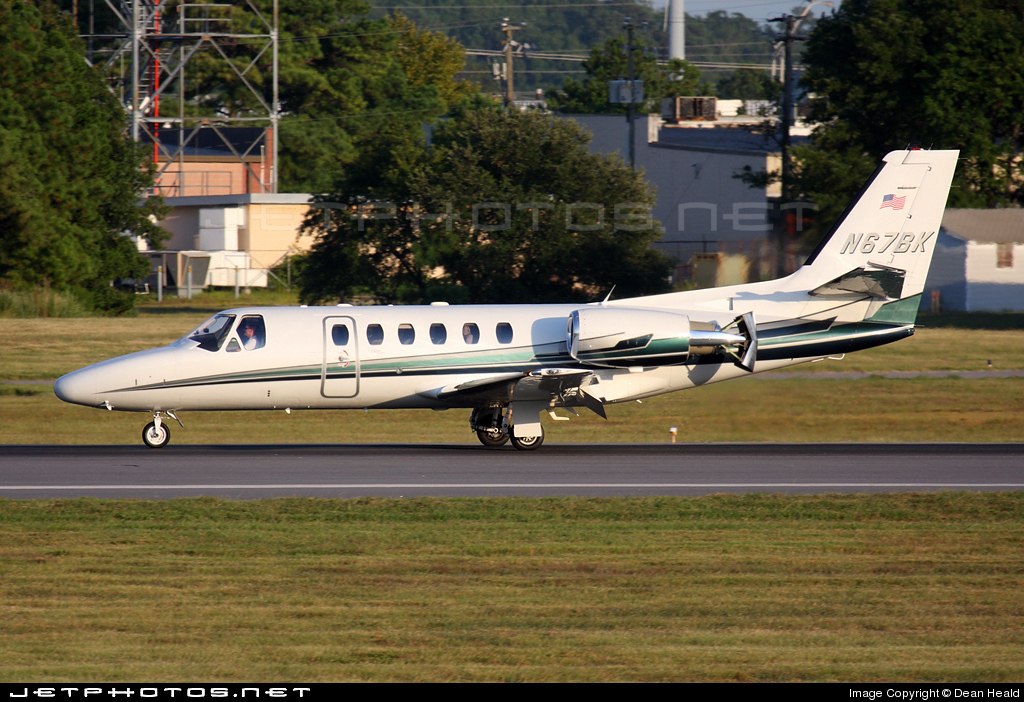 N67BK - Cessna 550B Citation Bravo - Private