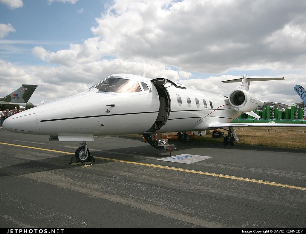 N383LJ - Bombardier Learjet 60XR - Global Flight