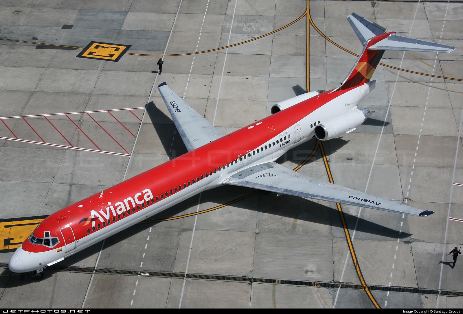 EI-CBR - McDonnell Douglas MD-83 - Avianca