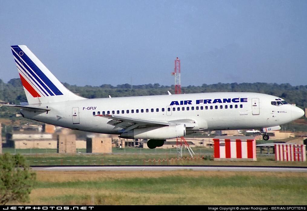 F-GFLV - Boeing 737-2K5(Adv) - Air France