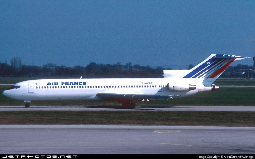 F-GCDI - Boeing 727-228(Adv) - Air France