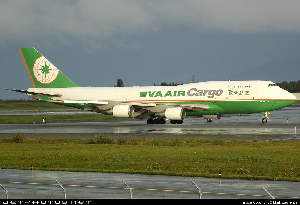 B-16462 - Boeing 747-45E(BDSF) - Eva Air Cargo