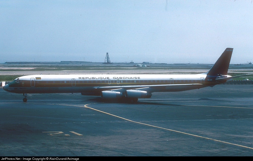 TR-LTZ - Douglas DC-8-63(CF) - Gabon - Government